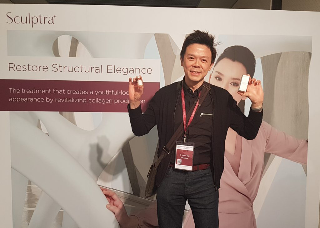 Dr. Ma attending the Sculptra conference in Taiwan, 2017