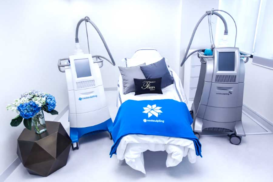Coolsculpting Machines in our Singapore Clinic